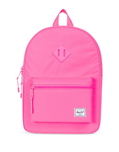 Herschel Supply Co Heritage Reflective Backpack-PINK-One Size