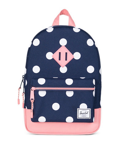 Herschel Supply Co Heritage Polka Dots Backpack-BLUE-One Size
