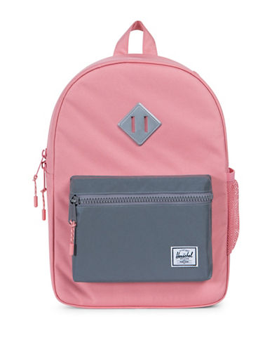 Herschel Supply Co Heritage Youth Colourblock Backpack-PINK-One Size