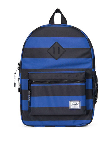 Herschel Supply Co Heritage Stripes Backpack-BLACK-One Size