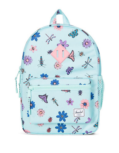 Herschel Supply Co Heritage Butterfly Print Backpack-BLUE-One Size
