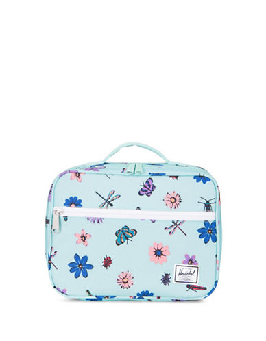 Herschel Supply Co Butterfly Pop Quiz Lunch Box-BLUE-One Size