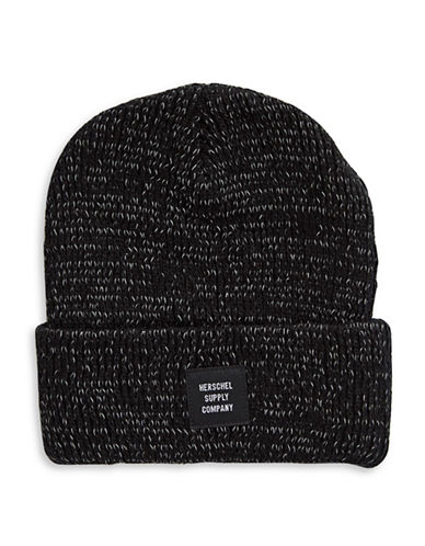 Herschel Supply Co Abbott Youth Beanie-BLACK-One Size