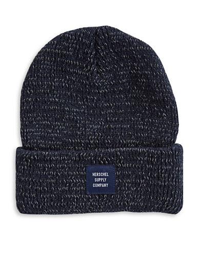 Herschel Supply Co Abbott Youth Beanie-BLUE-One Size