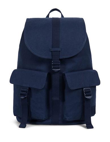 Herschel Supply Co Dawson Cotton Canvas Backpack-BLUE-One Size