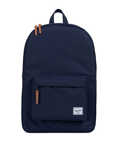 Herschel Supply Co Quilted Heritage Backpack-BLUE-One Size
