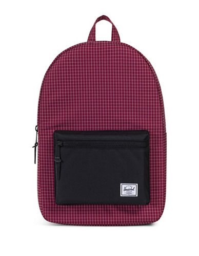 Herschel Supply Co Settlement Backpack-RED-One Size
