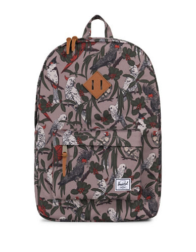 Herschel Supply Co Printed Heritage Backpack-BLUE-One Size
