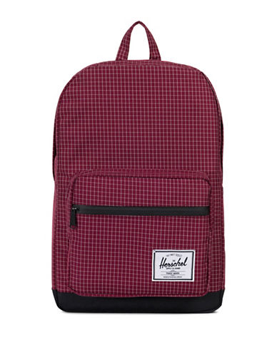 Herschel Supply Co Pop Quiz Backpack-RED-One Size