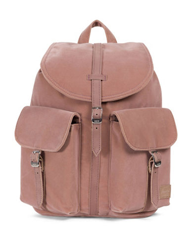 Herschel Supply Co Dawson X-Small Velvet Backpack-PINK-One Size