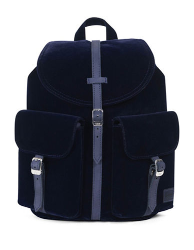 Herschel Supply Co Dawson X-Small Velvet Backpack-BLUE-One Size