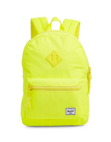 Herschel Supply Co Heritage Backpack-YELLOW-One Size