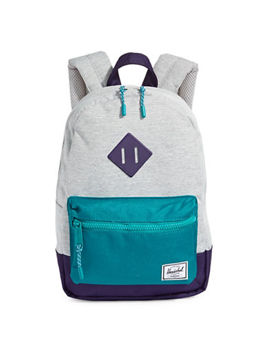 Herschel Supply Co Heritage Kids Tri-Tone Backpack-GREY-One Size