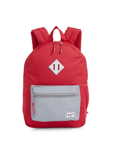 Herschel Supply Co Heritage Youth Two-Tone Backpack-RED-One Size