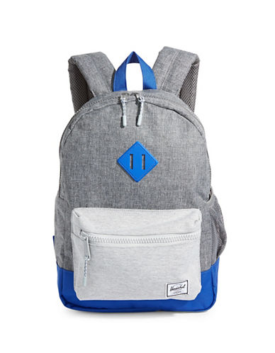 Herschel Supply Co Heritage Youth Tri-Tone Backpack-GREY-One Size
