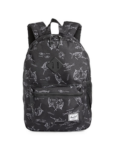 Herschel Supply Co Heritage Youth Fish Backpack-MULTI-One Size