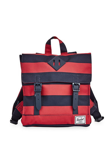 Herschel Supply Co Survey Kids Two-Tone Backpack-RED-One Size