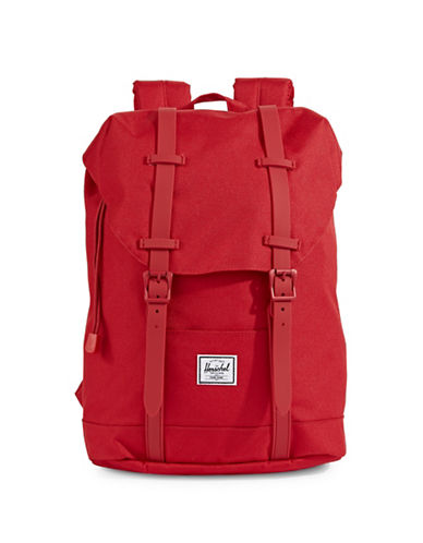 Herschel Supply Co Retreat Youth Backpack-RED-One Size
