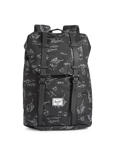 Herschel Supply Co Retreat Youth Fish Backpack-MULTI-One Size