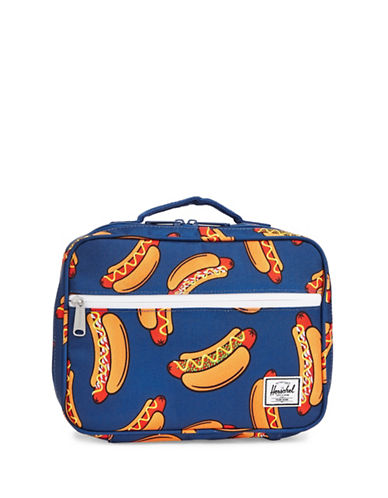 Herschel Supply Co Pop Quiz Hotdog Lunchbox-MULTI-One Size