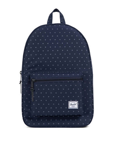 Herschel Supply Co Printed Setttlement Backpack-BLUE-One Size