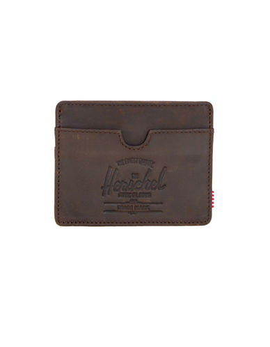Herschel Supply Co Charlie Leather Wallet-BEIGE-One Size