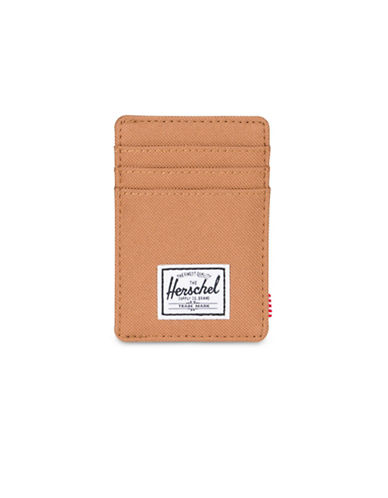 Herschel Supply Co Raven Card Holder Wallet-BEIGE-One Size