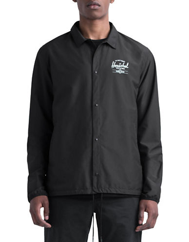 Herschel Supply Co Voyage Coach Jacket-BLACK-Large