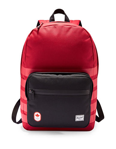 Canadian Olympic Team Collection X Herschel Supply Co. Pop Quiz Backpack-RED-One Size