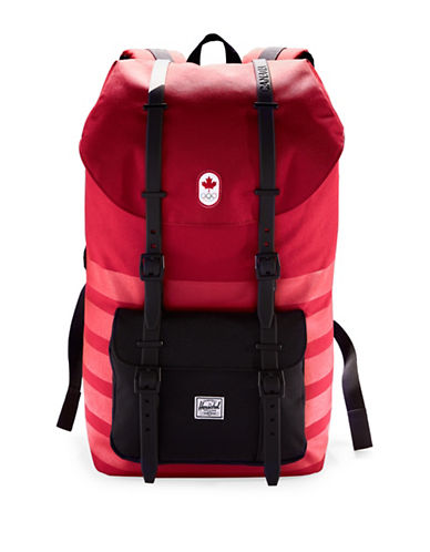 Canadian Olympic Team Collection X Herschel Supply Co. L.A. Backpack-RED-One Size