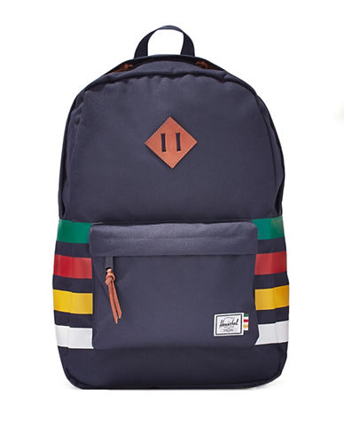 HudsonS Bay Company X Herschel Heritage Backpack-PEACOAT MULTISTRIPE-One Size
