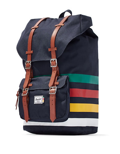 HudsonS Bay Company X Herschel Little America Backpack-BLUE MULTI-One Size