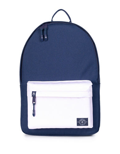 Parkland Vintage Two-Tone Backpack-BLUE-One Size