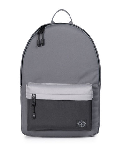 Parkland Vintage Two-Tone Backpack-BLACK-One Size