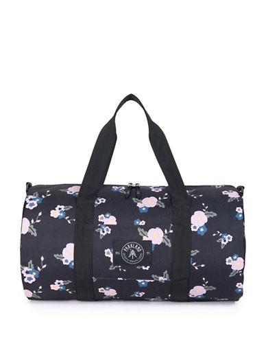 Parkland Floral Duffle Bag-GREY-One Size