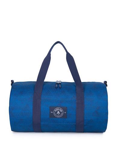 Parkland Geometric-Print Duffle Bag-BLUE-One Size
