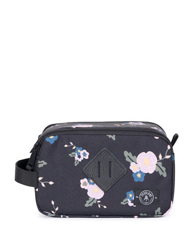 Parkland Floral Cosmetic Bag-GREY-One Size