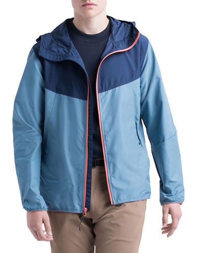 Herschel Supply Co Contrast Hooded Jacket-BLUE-Large 89939340_BLUE_Large
