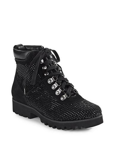 Donald J. Pliner Reecesp Embellished Boots-BLACK-6