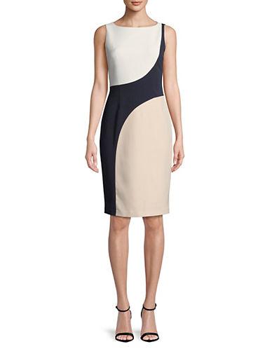 Vince Camuto Colourblocked Sheath Dress 89951573