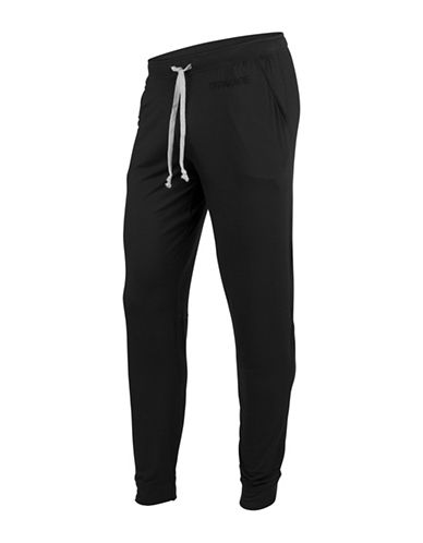 Mypakage Underwear Relaxed Fit Jogger Pants-BLACK-X-Large