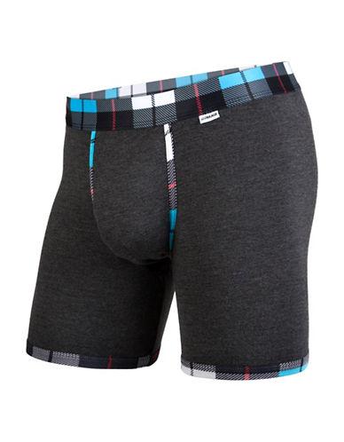 Mypakage Underwear Weekday Boxer Briefs-BLUE-Large