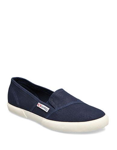 Superga Womens 2210 COTW Slip-Ons-BLUE-10