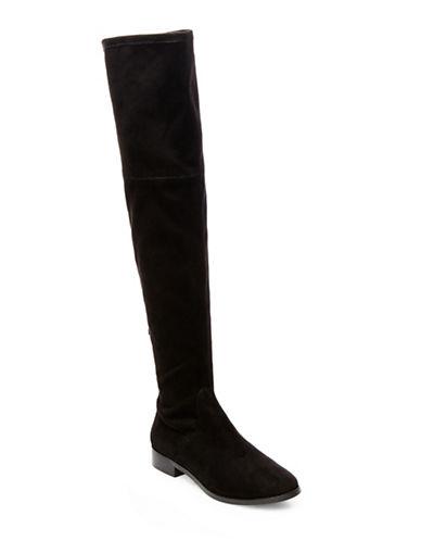 Steve Madden Odessa Over The Knee Boots-BLACK-7.5