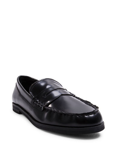Design Lab Lord & Taylor Penny Loafers-BLACK-6.5