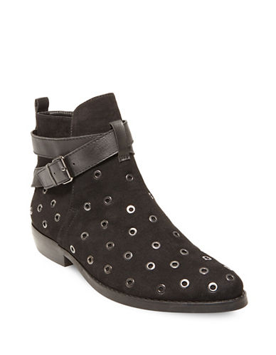 Design Lab Lord & Taylor Dylan Ankle Boots-BLACK-6.5