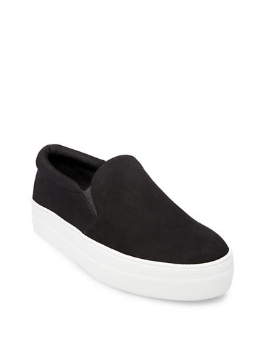 Steve Madden Gills Sneakers-BLACK-8