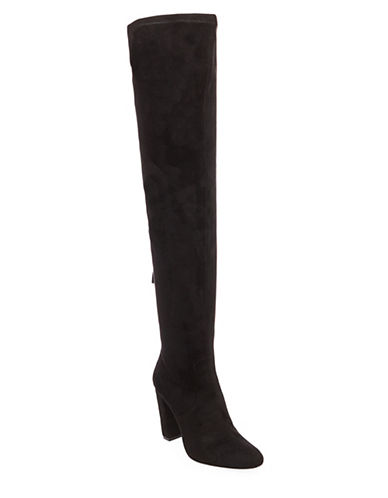 Steve Madden Emotions Knee-High Boots-BLACK-5.5