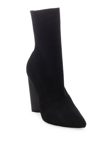 Steve Madden Capitol Booties-BLACK-7
