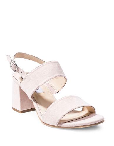 Steve Madden Fann Faux Suede Sandals-PINK-EUR 38/US 8